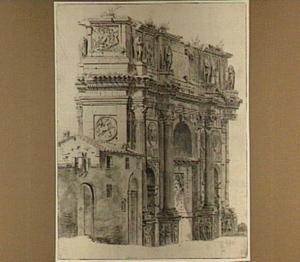 De boog van Constantijn te Rome