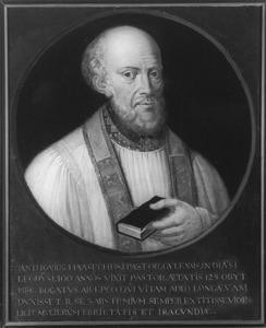 Portret van Anton Haasech, pastoor van Geul (?-1586)