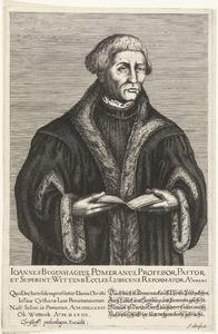 Portret van Johannes Bugenhagen (1485-1558)