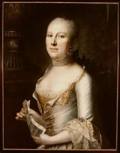 Portret van Petronella Geertruijd van Berckel ( -1780)