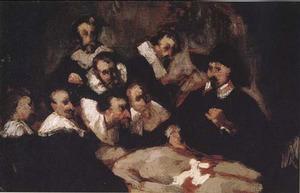 Anatomische les van Nicolaes Tulp