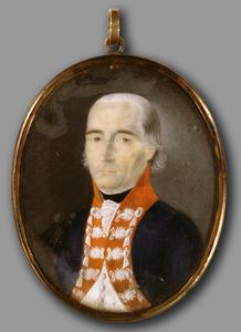 Portret van Friedrich Wilhelm (Ludwig) von Ammon (1752-1828)
