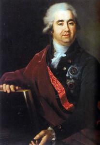 Portret van prins Alexander Bezborodko (1747-1799)