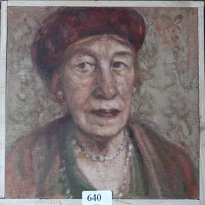 Portret van Hermance Schaepman (1919-2007)