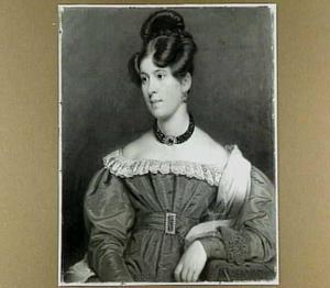 Portret van Helena Cornelia Luberta de Joncheere, née van Beusechem, Vrouwe van Harmelen (1807-1886)