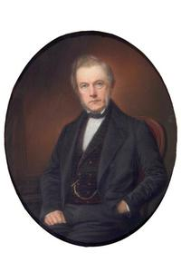 Portret van Jan van Loon (1816-1889)