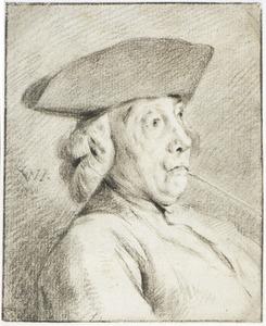 Portret van de kunstverzamelaar Jacob de Vos (1735-1832)