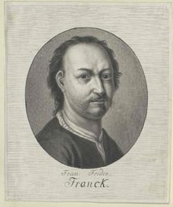 Portret van Franz Friedrich Franck (1627-1687)