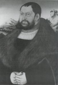 Portret van Johann der Beständige