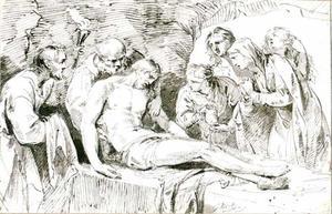De graflegging van Christus