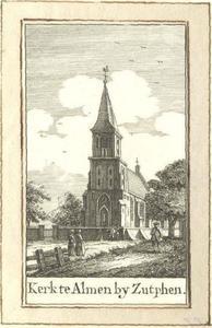 De kerk van Almen bij Zutphen