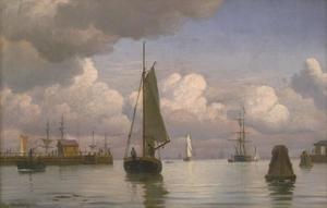 Haveningang ten noorden van Kopenhagen