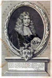 Portret van Joachim von Sandrart (1606-1688)