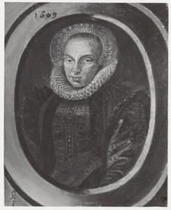 Portretvan een vrouw, waarschijnlijk Ermgard Stuyver (1566-1616)
