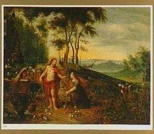 Landschap met de verschijning van Christus aan Maria Magdalena (Noli me Tangere)