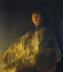Portret van een jonge man, mogelijk zelfportret van Jan Lievens (1609-1674)