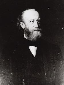 Portret van Benjamin Reindert Godfried Bouricius (1838-1908)