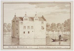 Het huis Wynestein te Jutfaas, van achteren gezien