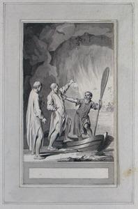 Illustratie bij 'De polyhistor' uit de Fabelen en vertelsels van F.C. Gellert