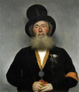 Portret van M.A.Viegers (1797-1875)