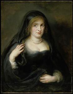 Portret van een vrouw, mogelijk Susanna Lunden-Fourment