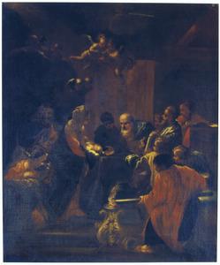 De presentatie van het Christuskind in de tempel