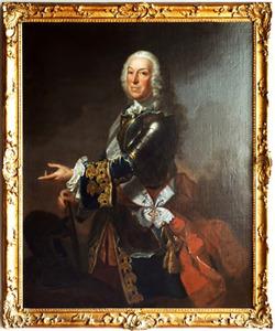 Portret van Andreas August Pretorius (1683-1762)