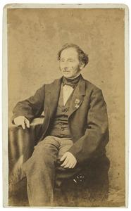 Portret van Marinus de Leur (1813-1865)