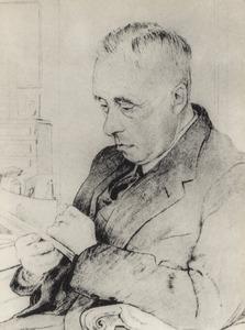 Portret van Johan Huizinga (1872-1945)