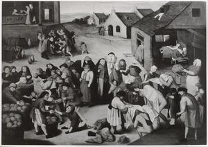 De Zeven Werken van Barmhartigheid (Matth.25:35-37)