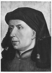 Portret van een man, mogelijk een muzikant