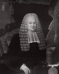 Portret van Hendrik Mollerus (1709-1783)