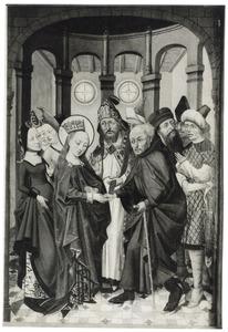 Het huwelijk van Maria en Jozef (Christus aan het kruis)