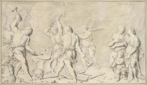 Venus in de smidse van Vulcanus (allegorie van de Winter)