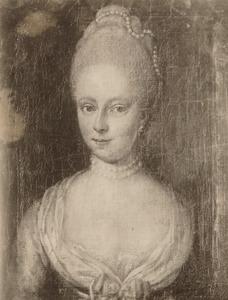 Portret van Anthonia Theodora van Soestdijck van Cloon (1743-1786)