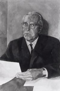 Portret van Henricus Johannes Marius Scheffer (1910-1978)