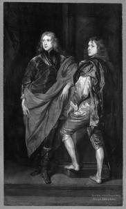 Portret van twee onbekende mannen
