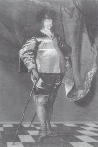 Portret van prins Christiaan van Denemarken (1603-1647), oudste zoon van koning Christiaan IV