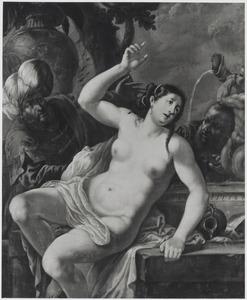 Suzanna door de ouderlingen belaagd (Daniël 13)