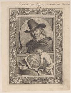 Portret van Adriaen van Ostade (1610-1685)