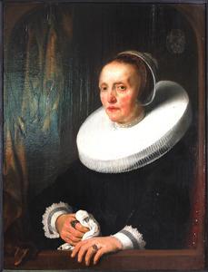 Portret van Cornelia Dedel (1594-1660)