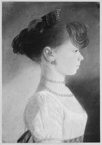 Portret van Maria Wilhelmina Theodora Muntz (1795-1878)