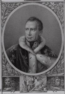 Portret van Willem I van Oranje- Nassau (1772-1843)