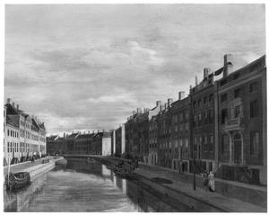 De Gouden Bocht van de Herengracht in Amsterdam, gezien richting Vijzelstraat