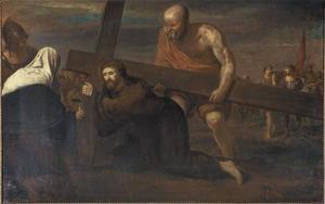 De ontmoeting met de H. Veronica tijdens de kruisdraging