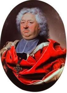 Portret van keurvorst Lothar Franz von Schönborn, prins-bisschop van Mainz