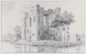 Kasteel Heenvliet of kasteel Ravestein met duivenhok