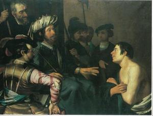 Jozef wordt uit de gevangenis gehaald en voor farao geleid (Genesis 41:14)
