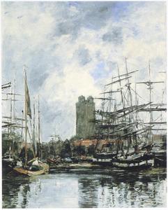 Dordrecht: Haven en Grote Kerk