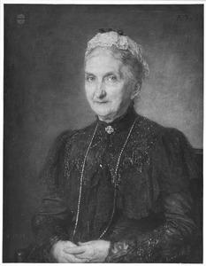 Portret van Henriette Wilhelmine van de Poll (1829-1909)
